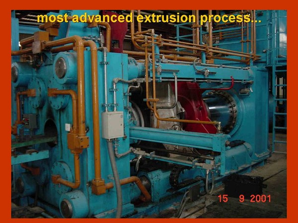 high tech extrusion press Machines